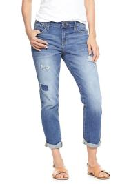 rip and repair girlfriend jeans